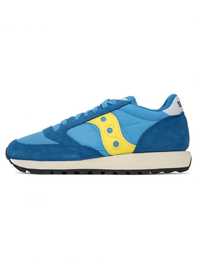 Blue & Yellow Jazz Original Vintage Sneaker