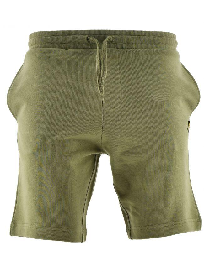 Khaki Cotton Short