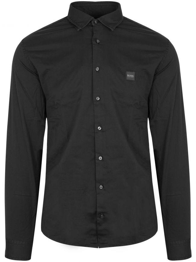 'Mypop_2' Black Long Sleeve Shirt
