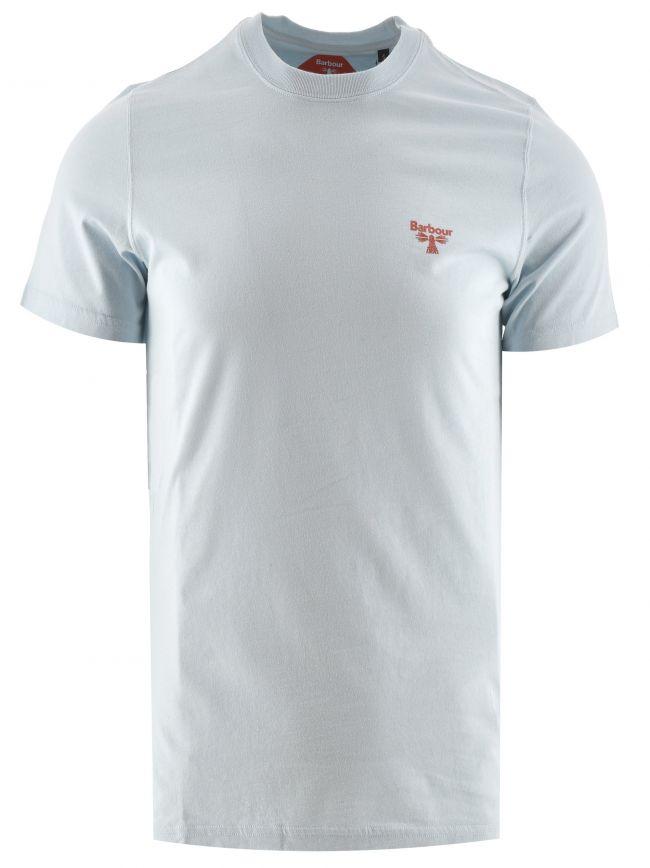 Pale Sky Small logo T Shirt