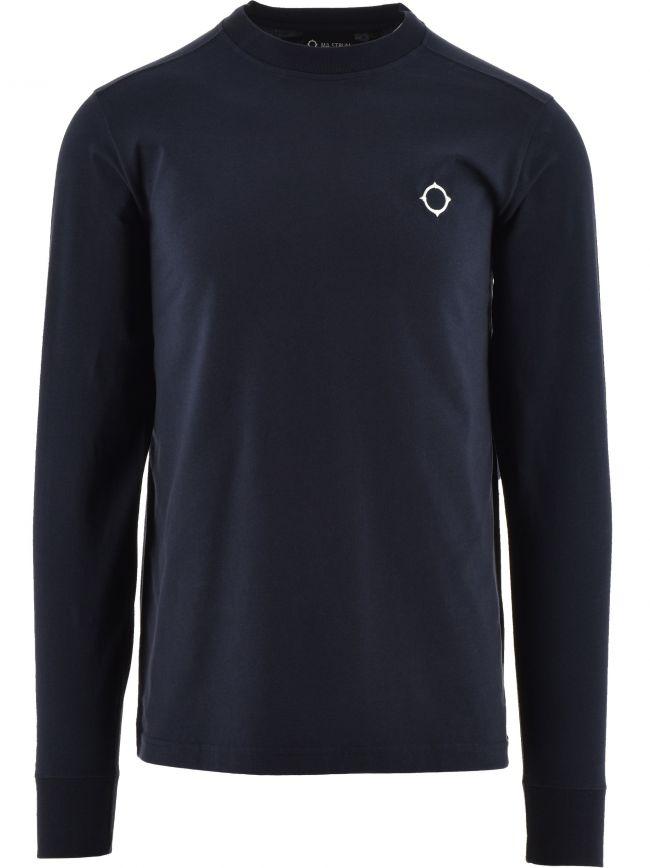 Navy Long Sleeve Icon T-Shirt