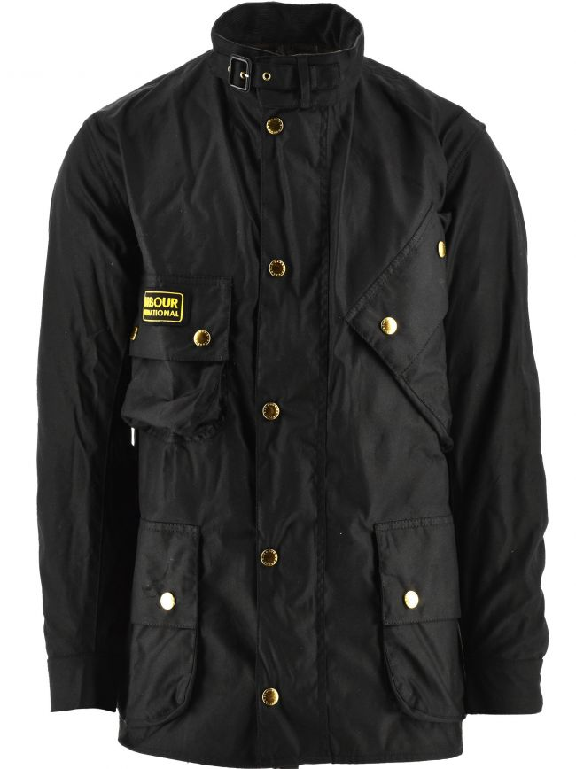 Black Original Wax Jacket