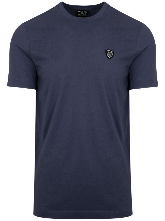 Night Blue Shield Logo T-Shirt