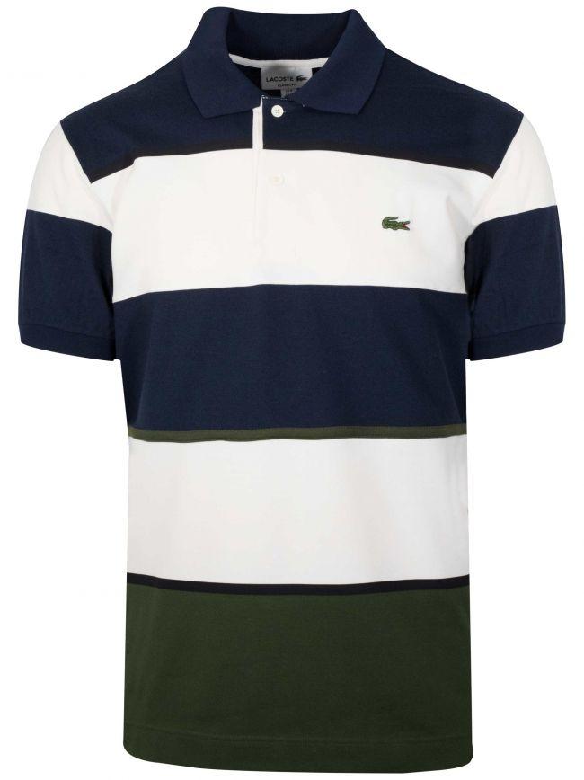 Navy Block Polo Shirt