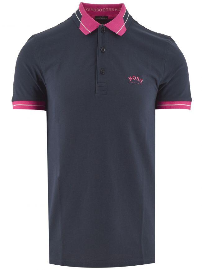 Navy Paule Polo Shirt