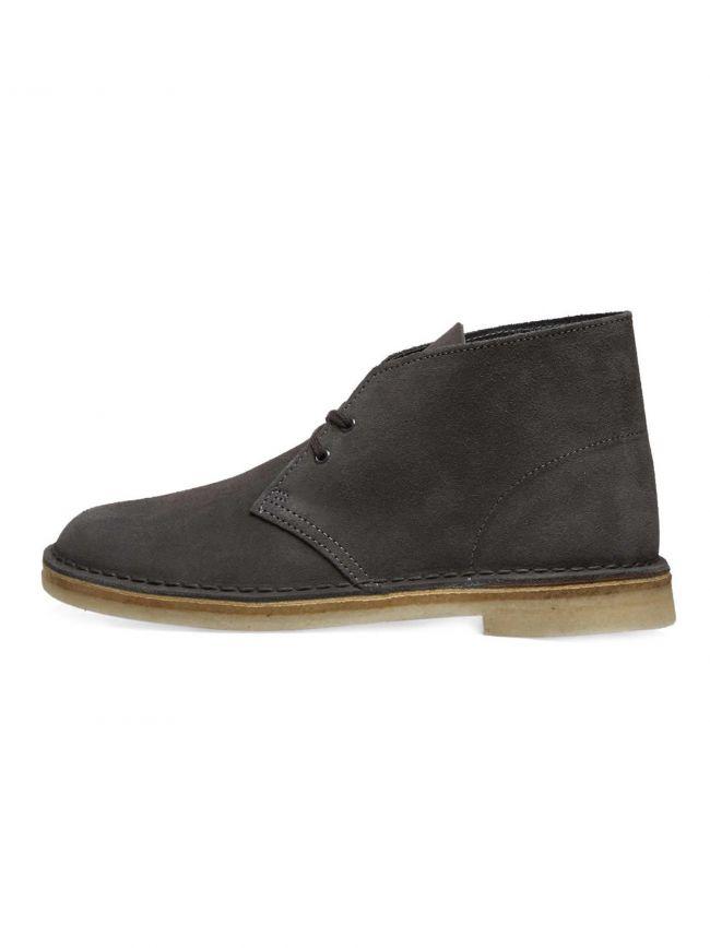 Slate Grey Suede Desert Boot