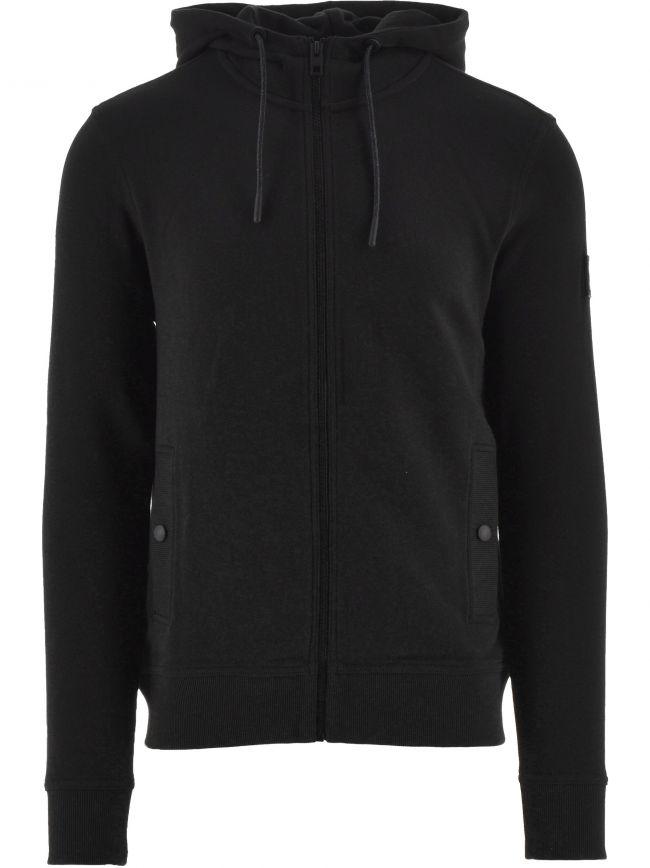 Black Zounds 1 Hooded Sweatshirt