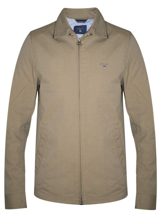 Beige 'The Windcheater' Jacket