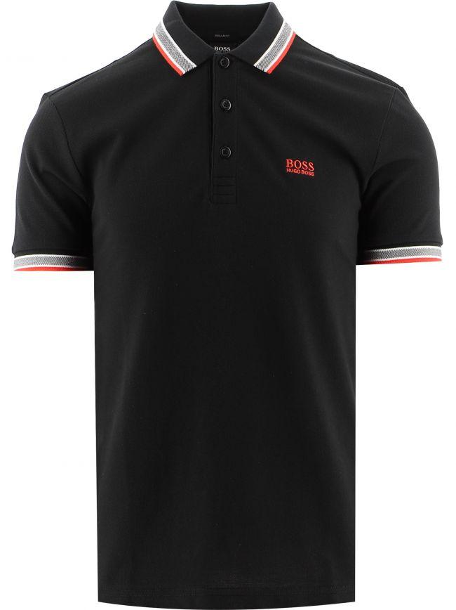 Black Paddy Polo Shirt
