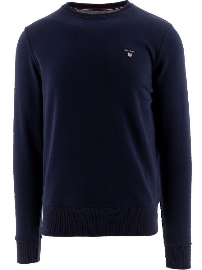 Navy Original Crew Neck Sweatshirt