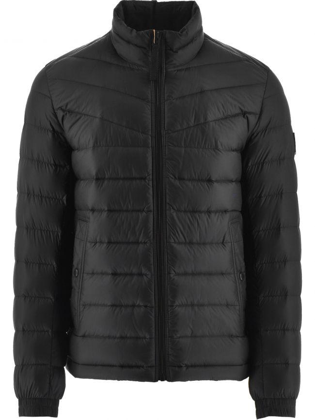 Black Lightweight Slim Fit Olido 1 Down Jacket