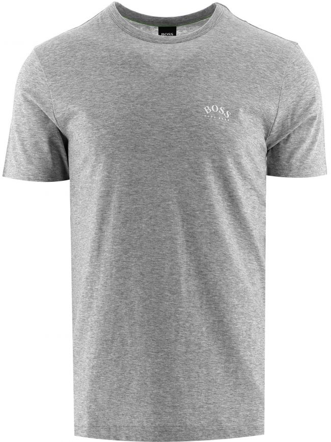 Grey Tee Curved T-Shirt