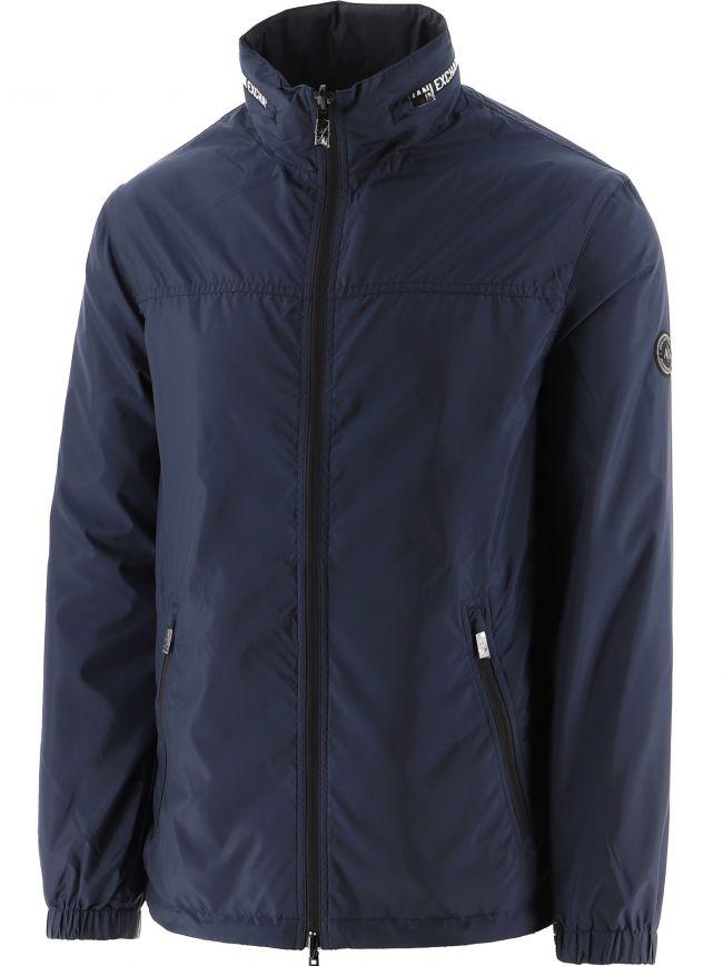 Blue Padded Jacket