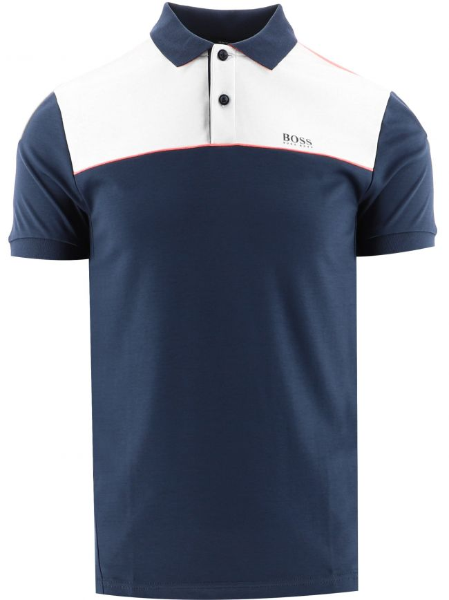 Navy Paule 1 Slim Fit Polo Shirt