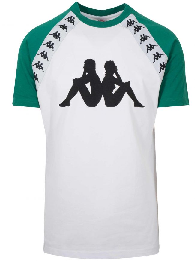 White & Green Banda Bardi T-Shirt