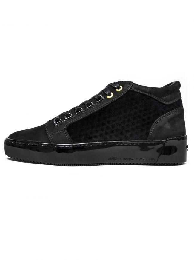 Black Propulsion Mid Sneaker