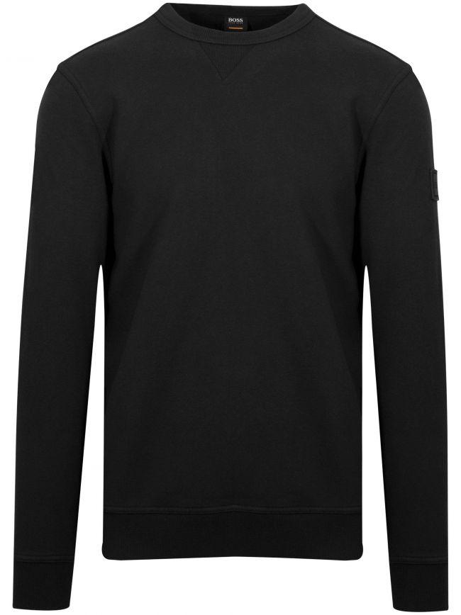 Black Walkup Sweatshirt