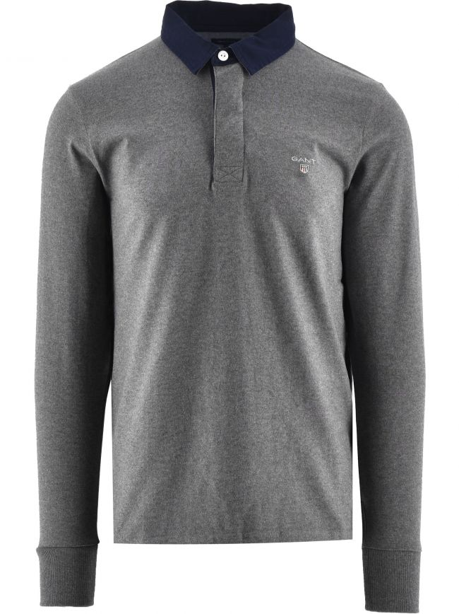 Dark Grey Heavy Rugger Shirt