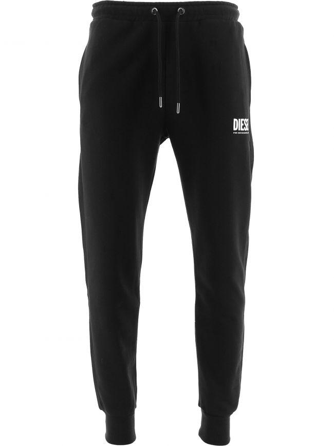 Black P-Tary-Logo Jogging Pant
