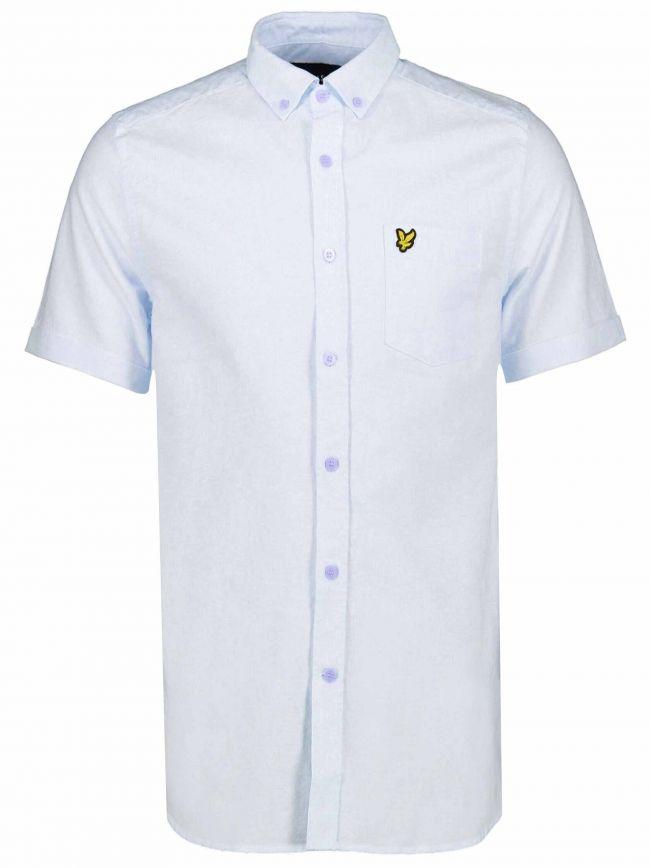 Riviera Blue Short-Sleeve Shirt