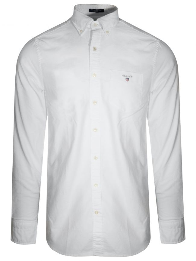 White Oxford Regular Shirt