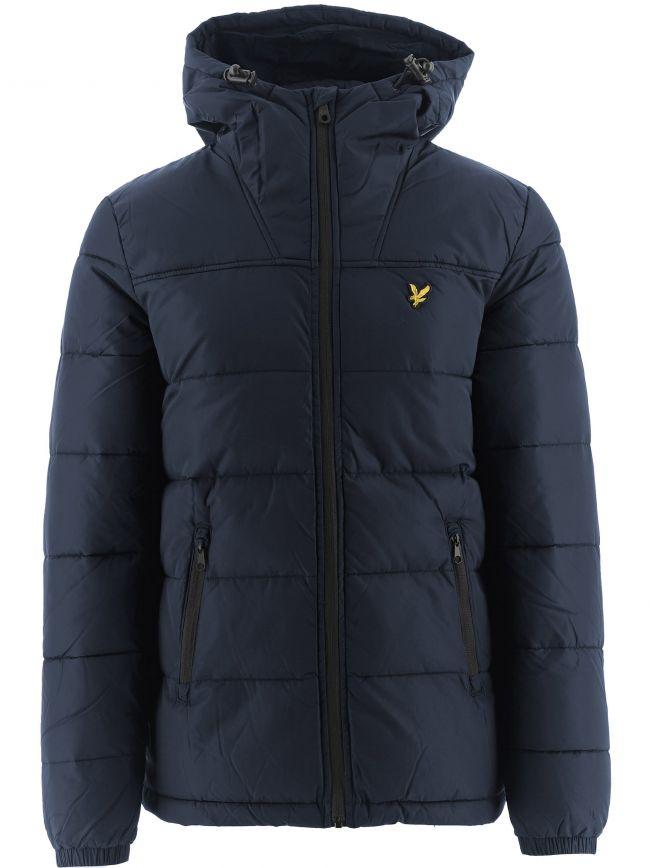 Navy Wadded Jacket