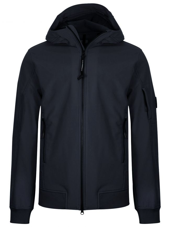Navy Soft Shell Lens Jacket