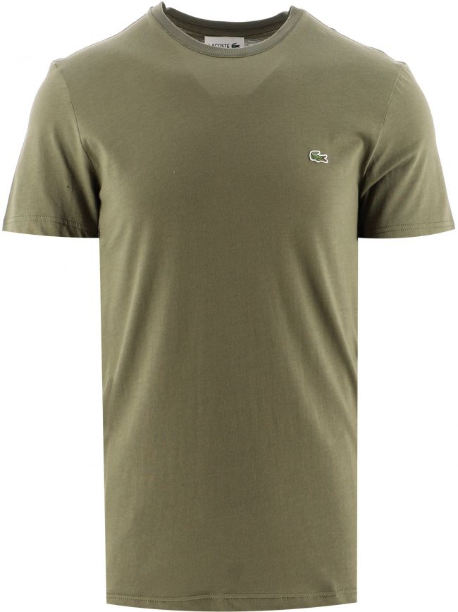 Green Short Sleeve Crew Neck T-Shirt