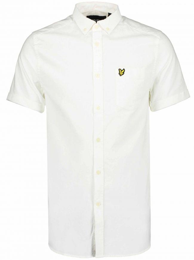 White Short-Sleeve Shirt