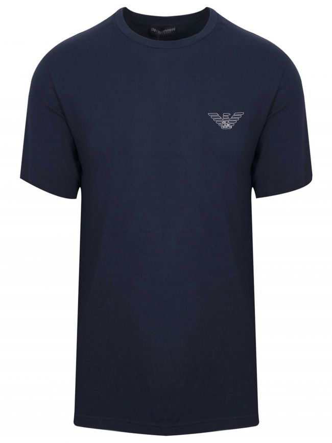 Navy Eagle Short-Sleeved T-Shirt