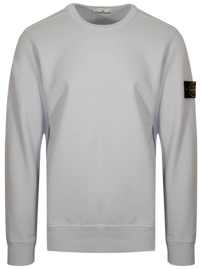 Ice White Crew Neck Sweatshirt
