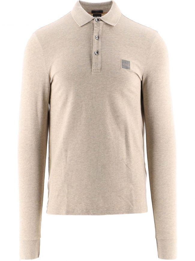 Brown Slim Fit Stretch Cotton Passerby 1 Polo Shirt