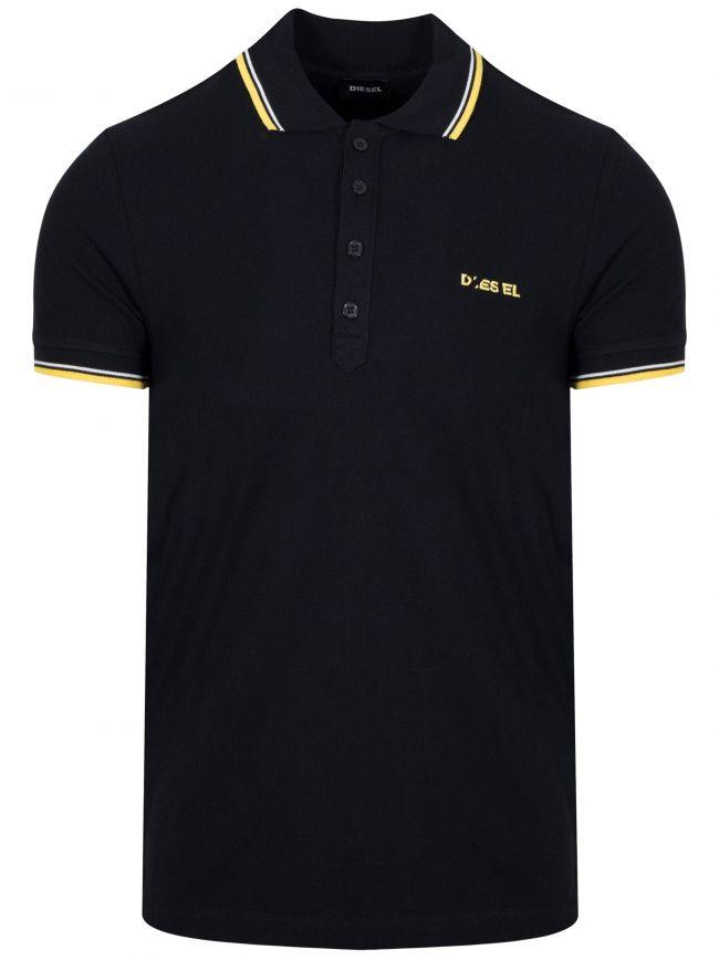 Black T-Randy Polo Shirt