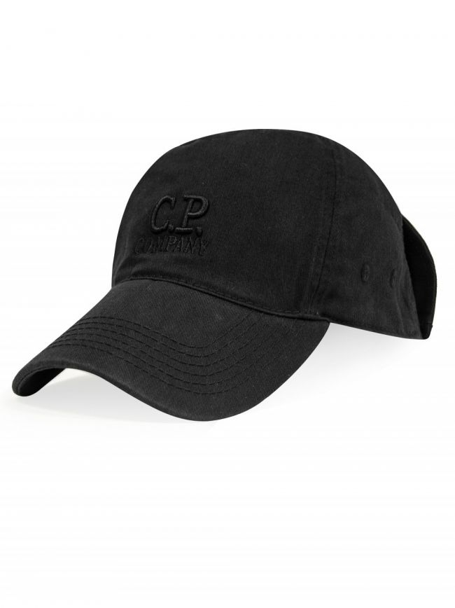 Black Goggle Baseball Cap