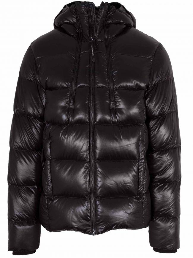 Black Padded Goggle Jacket