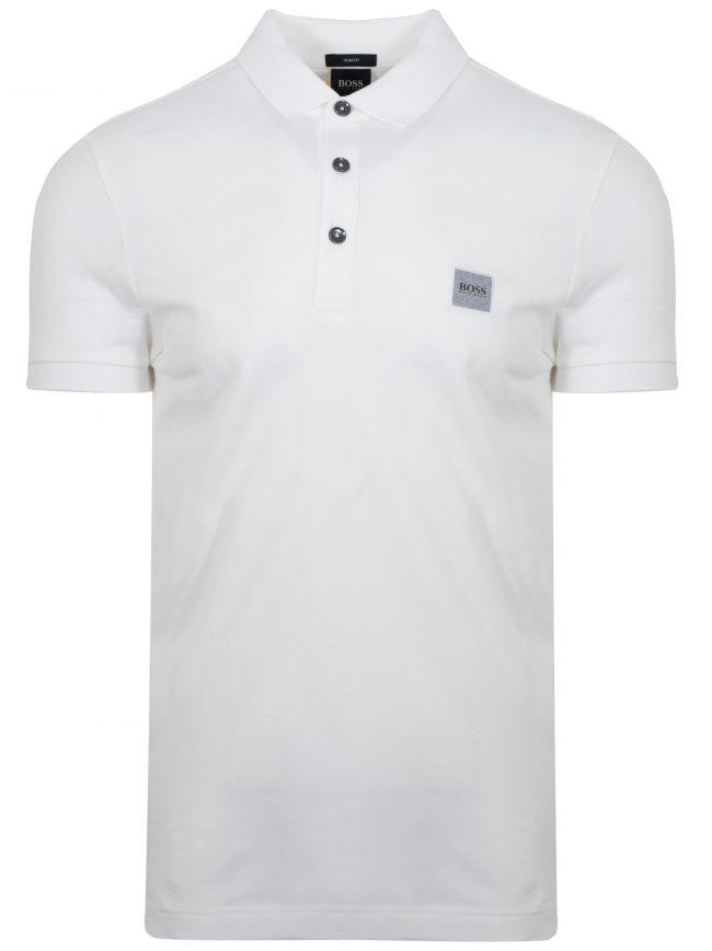 White Passenger Polo Shirt