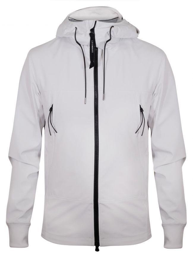 Ice White Soft Shell Goggle Jacket