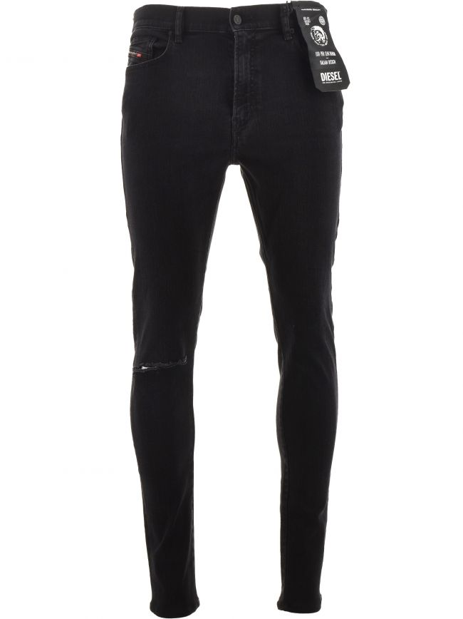 Black D-Amny-Y 34 Leg Jean