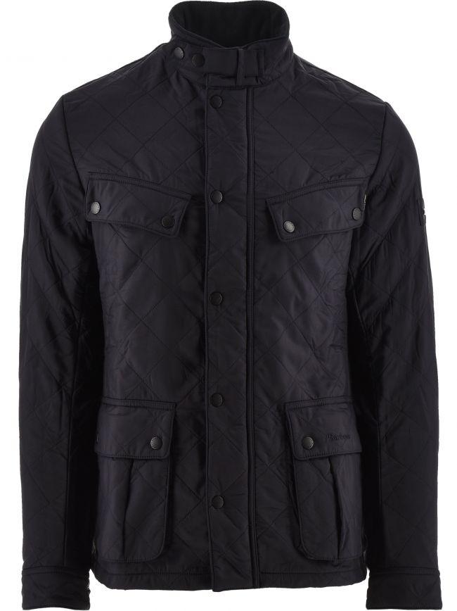 Navy Ariel Polarquilt Jacket