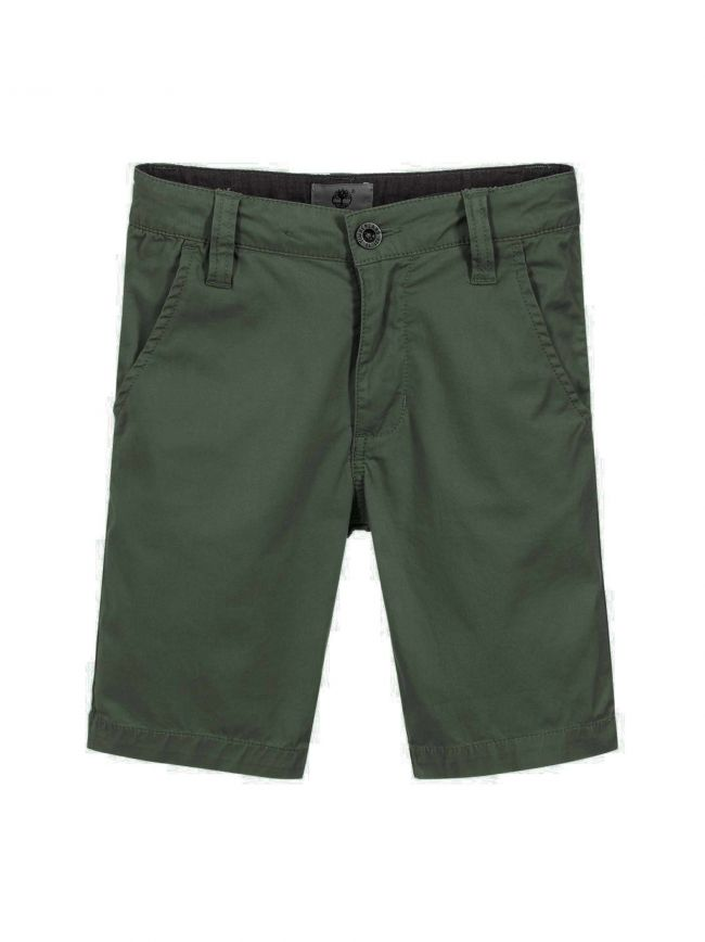 Jungle Green Chino Shorts