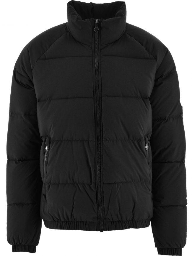 Black Vintage Mythic Soft Down Jacket