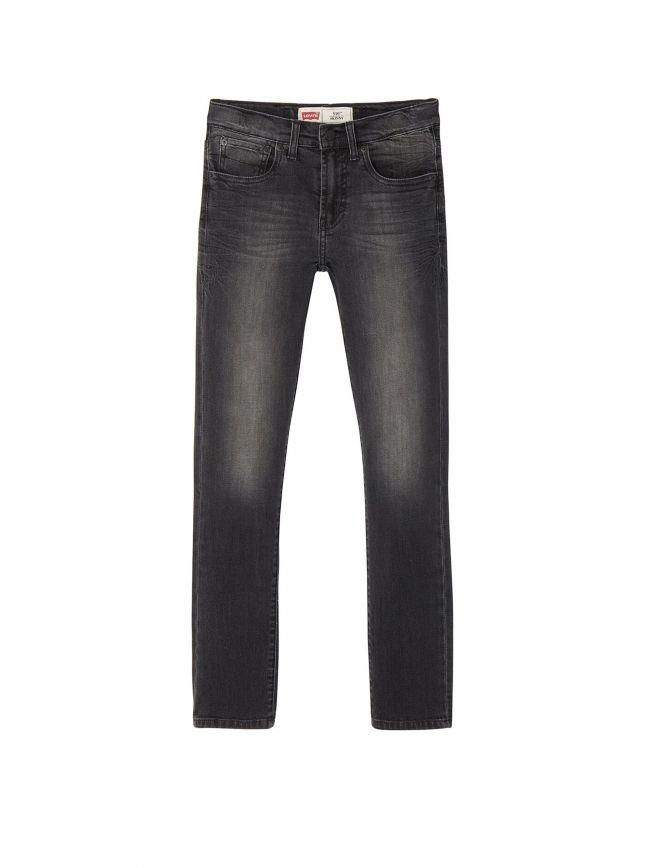 510 Skinny Fit Washed Black Jean
