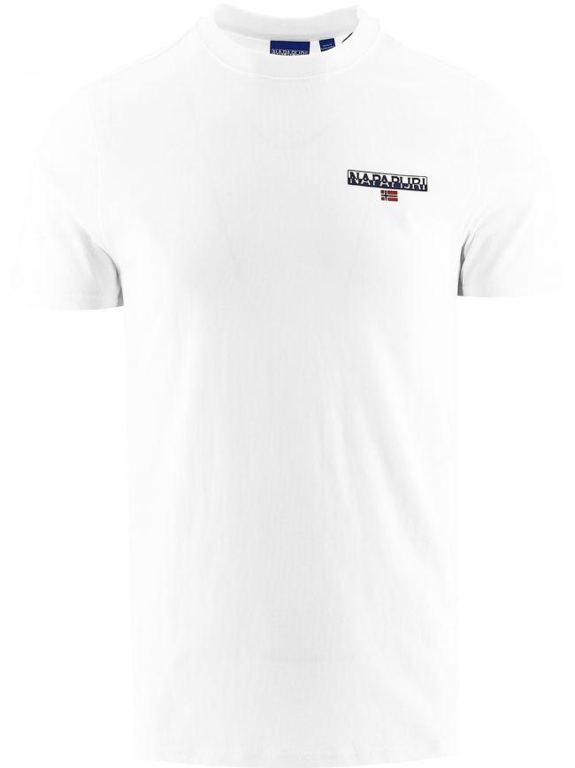 White Short Sleeve Ice T-Shirt