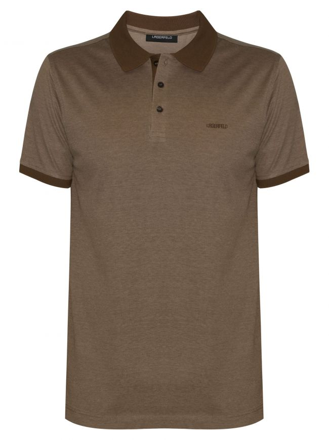 Camel Brown Polo Shirt