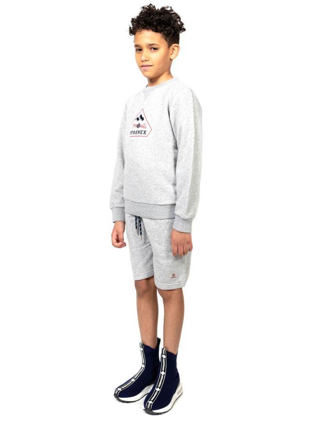 Pyrenex Kids Grey Charles Sweatshirt