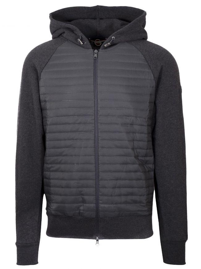 Ultrasonic Raglan Sleeve Grey Jacket