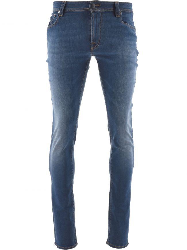 Blue 6 Month Leonardo Slim Jean