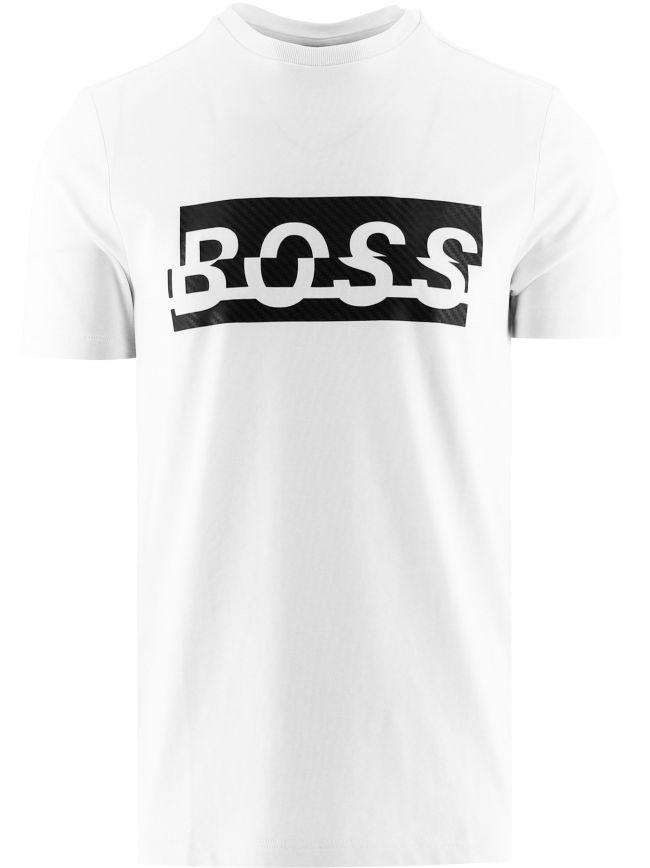 White Tee 4 Stretch Cotton T-Shirt