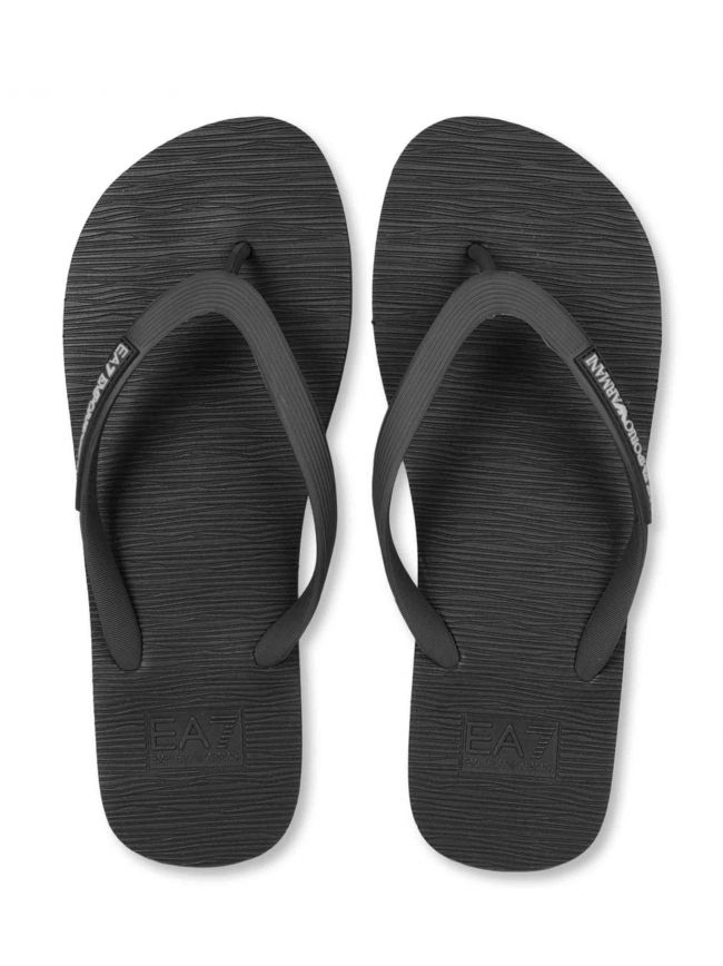 Sea World Black Flip Flop
