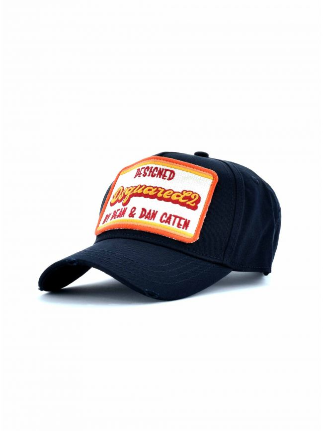 Navy Dean & Dan Patch Embroidered Cap